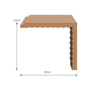 Flexiteek 2G Trim: Angle Section