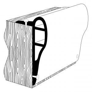 PVC 1543 Pontoon Fendering Profile