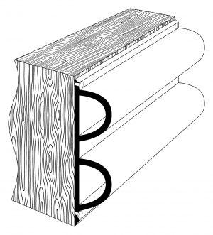 PVC 1893 Pontoon Fendering Profile