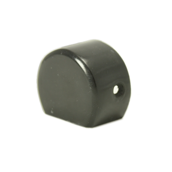 PVC 205 Black End Cap