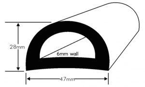 PVC 49 Boat Fendering Profile