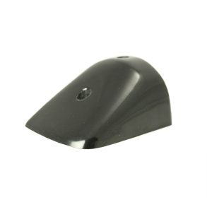 PVC 49 Black End Cap