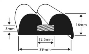 PVC 624 Boat Fendering Profile