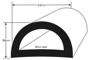 PVC 632 Boat Fendering Profile