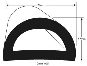 PVC 898 Boat Fendering Profile